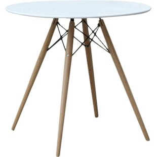 Wood Leg Dining Table Fine Mod Imports
