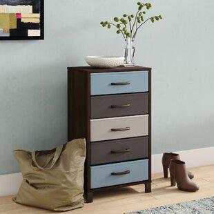 Langevine Storage Stand 5 Drawer Accent Chest by Ebern Designs