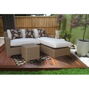 Galen 3 Piece Sectional Set with Cushions