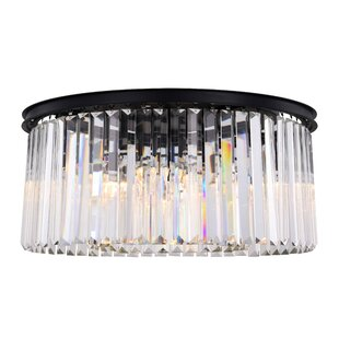 Everly Quinn Lavinia 8-Light Flush Mount