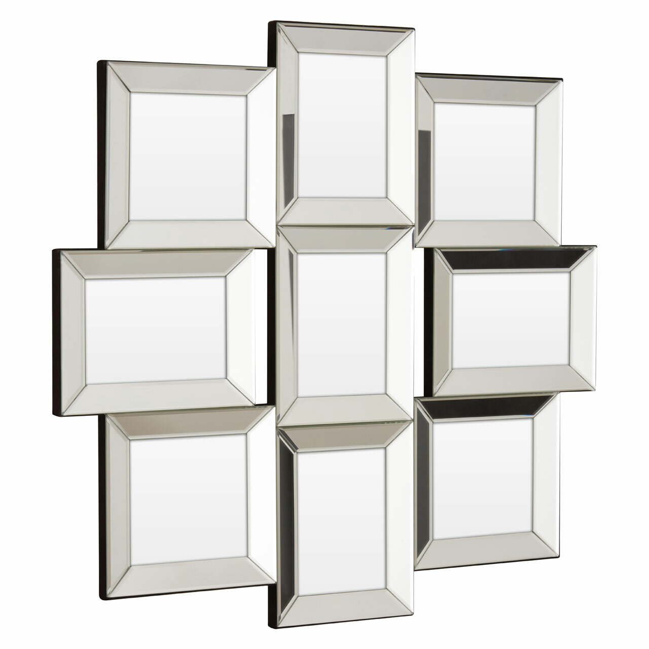 Fairmont Park Morion Collage Mirrored 9 Photo Picture Frame ...