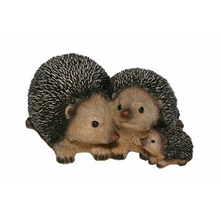 Shelby Hedgehog Family Statue By Happy Larry