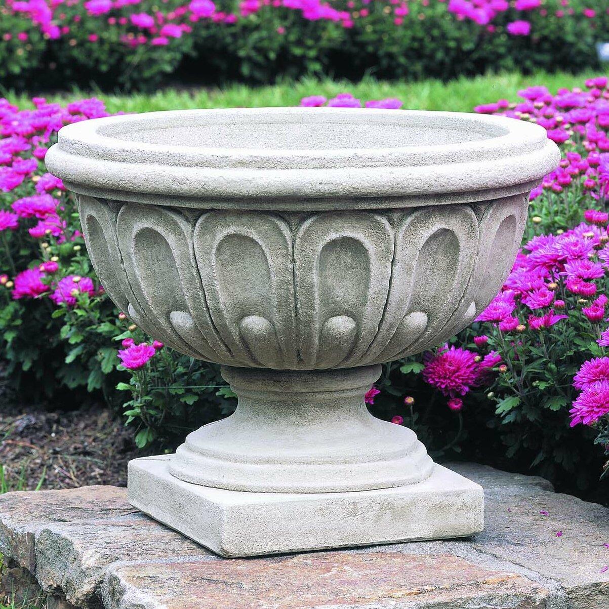 Longwood Cast Stone Urn Planter