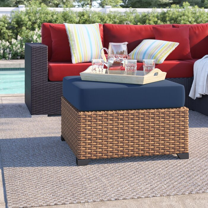 Fantastic Waterbury Ottoman With Cushion Lamtechconsult Wood Chair Design Ideas Lamtechconsultcom