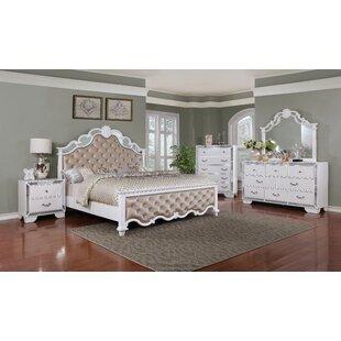 Glam White Bedroom Sets You\'ll Love | Wayfair