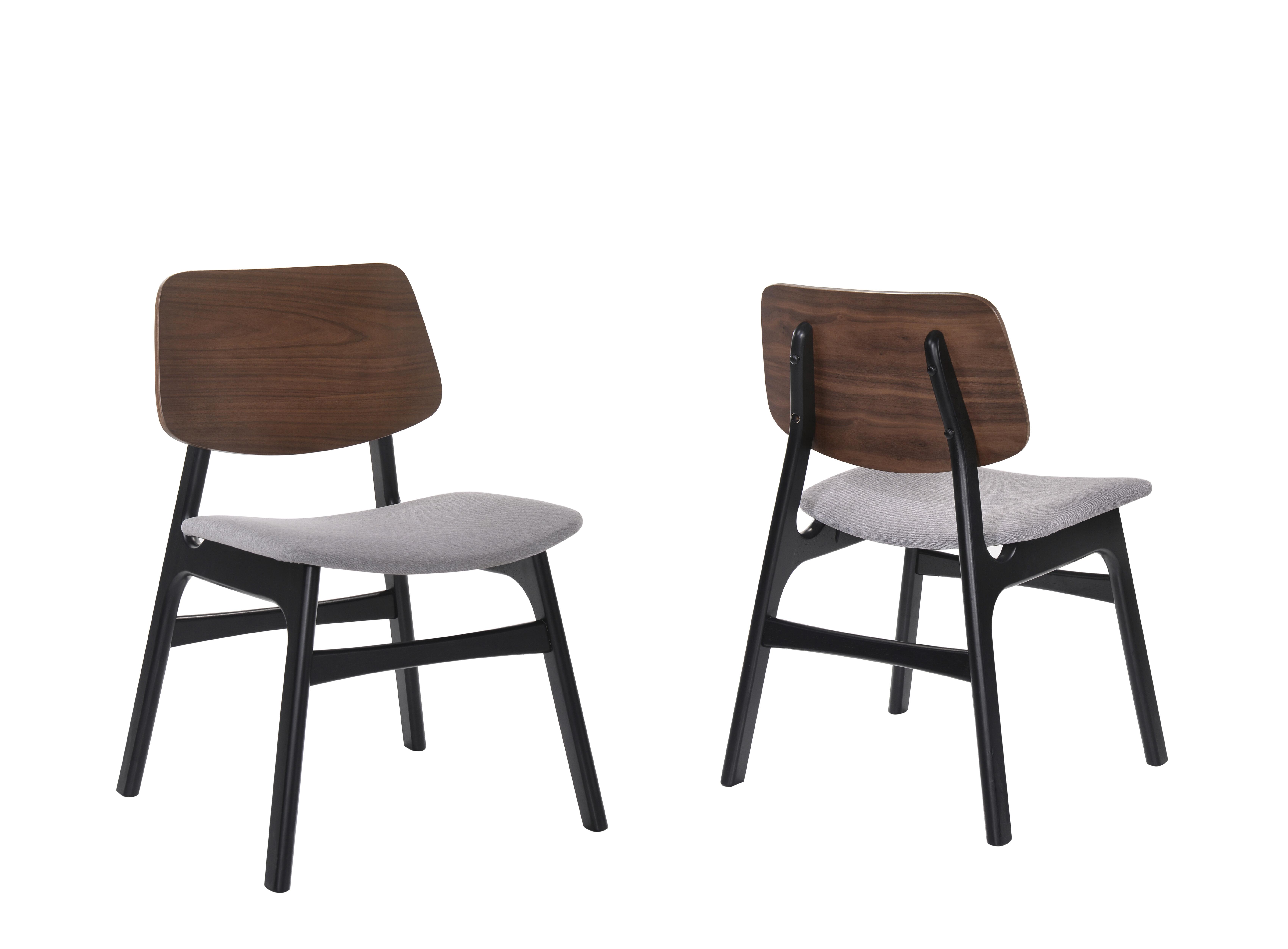 Terrific Paityn Modern Curved Back Upholstered Dining Chair Uwap Interior Chair Design Uwaporg
