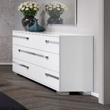 Alpes 6 Drawer Double Dresser with Mirror by Orren Ellis