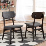 Pleasant Avenue Upholstered Wingback Side Chair (Set of 2) by George Oliver