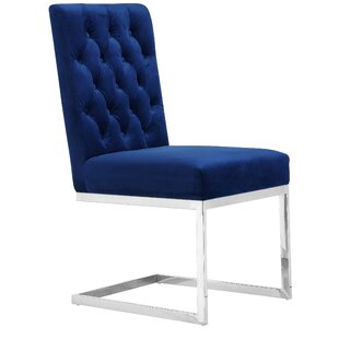 Online Reviews Astor Velvet Dining Chair (Set of 2) by Mercer41 Reviews (2019) & Buyer's Guide