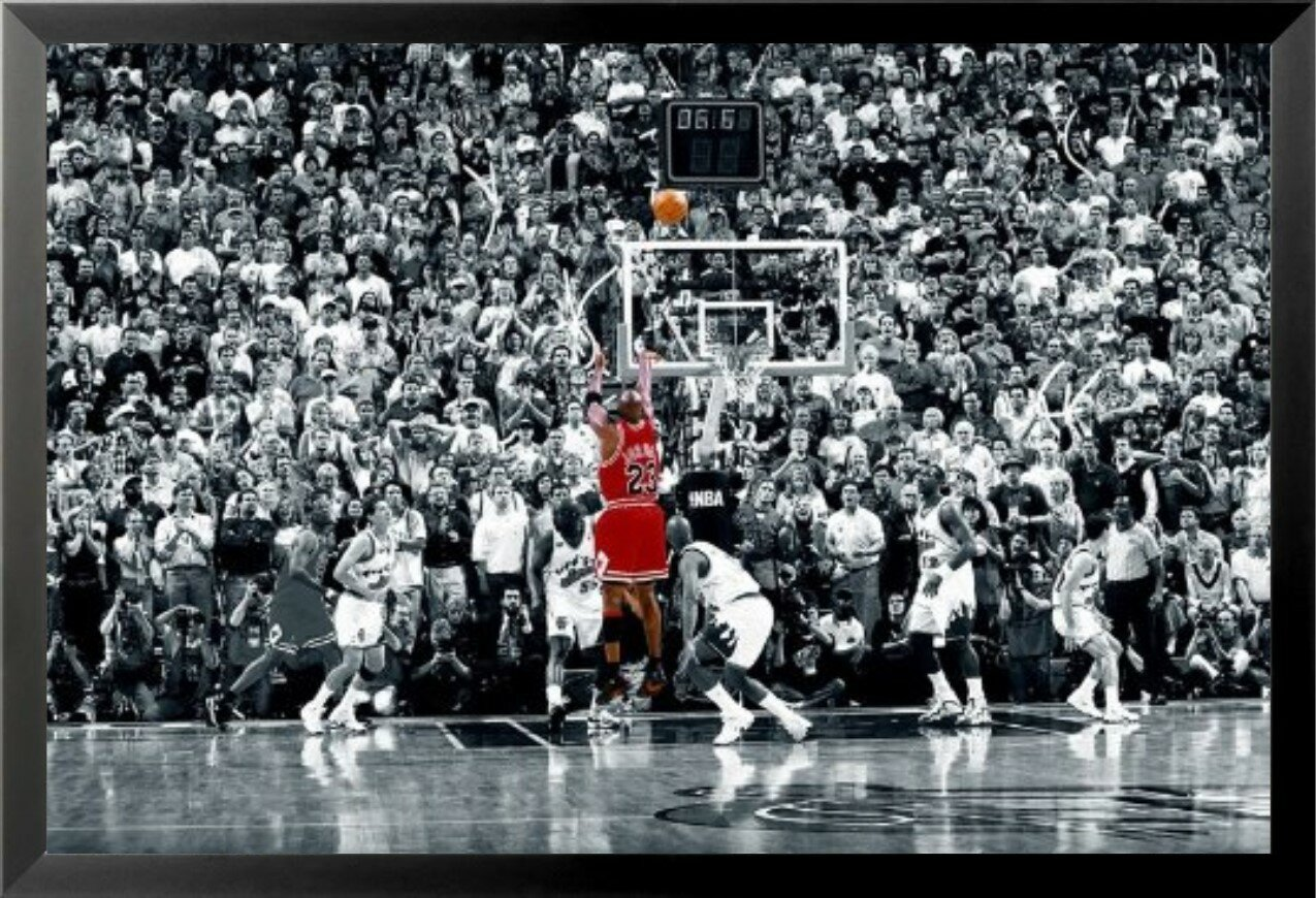 Latitude Run Michael Jordan The Last Shot Sports Nba