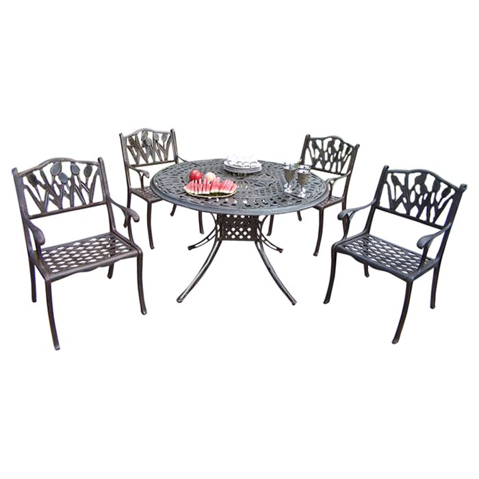 Oakland Living Capitol Stacking Patio Dining Chair Wayfair