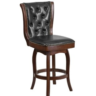 Lueben 26'' Swivel Bar Stool Astoria Grand