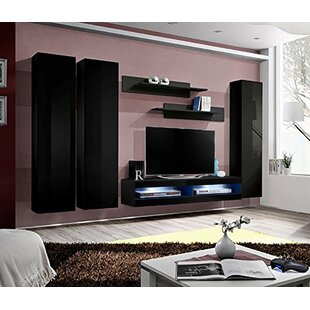 Lewin Wall Mounted Floating Entertainment Center for TVs up to 70