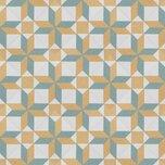 "Revival 8"" x 8"" Ceramic Patterned Wall & Floor Tile"