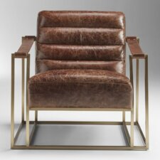 Ames Sling Armchair by Lazzaro Leather