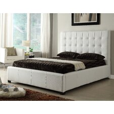 Athens Upholstered Storage Platform Bed by At Home USA