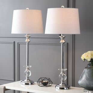 House of Hampton Larocco 2 Piece Table Lamp Set