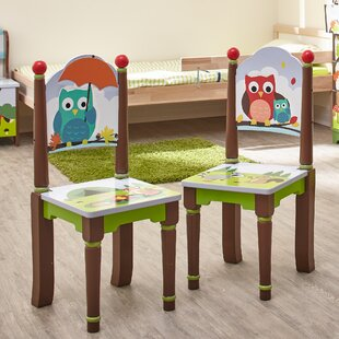 Enchanted Woodland 2 Piece Kids Desk Chair Set by Fantasy Fields