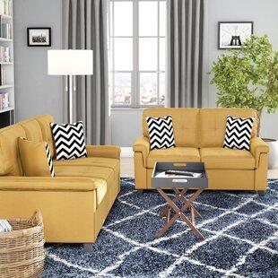 Reviews Mathias 2 Piece Standard Living Room Set by Winston Porter Reviews (2019) & Buyer's Guide