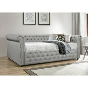Salomon Upholstered Daybed with Trundle