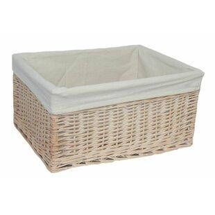 Lined Storage Baskets | Wayfair.co.uk