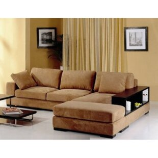Sectional With Ottoman by Hokku Designs Spacial Price