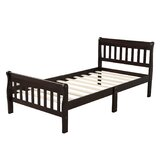 Purcello Twin Solid Wood Platform Bed by Red Barrel Studio®