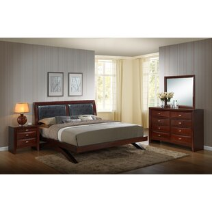 Alidge Platform 4 Piece Bedroom Set by Grovelane Teen Best #1