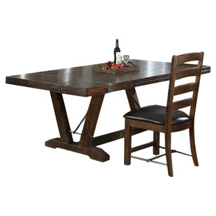 Waban Extendable Dining Table Loon Peak