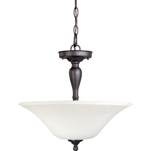 Charlton Home Yale Semi Flush Mount
