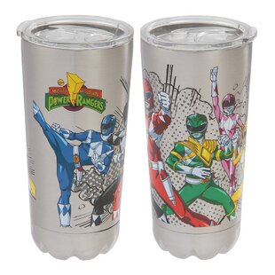 Power Rangers 20 oz. Stainless Steel Travel Tumbler