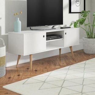 Dorffman Retro TV Stand For TVs Up To 60