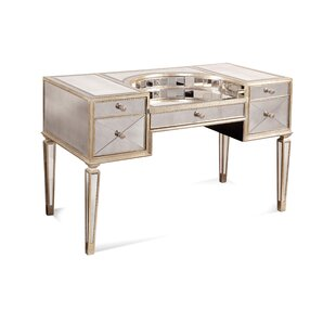 Affordable Price Roehl Mirrored Writing Desk By Willa Arlo Interiors