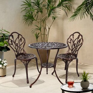 Price For Tulip 3 Piece Bistro Set By Coolmore