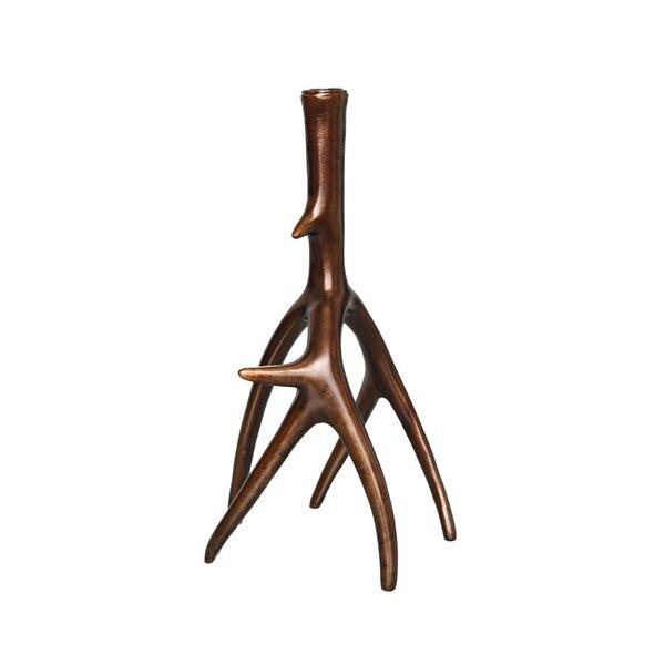 G-mart Deer Antlers Design Candle Holder Candlestick for 3 Taper Candles