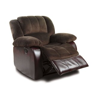 Tufted Manual Recliner by A&J Homes Studio