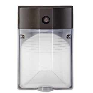 TriGlow 15-Watt LED Outdoor Security Wall Pack