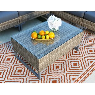 Shop For Topping Outdoor Wicker Coffee Table Price comparison