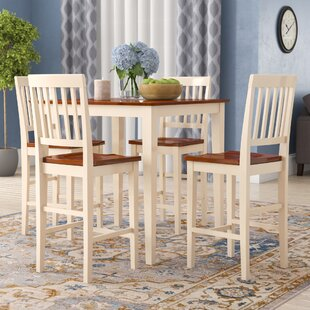 Quinlan 5 Piece Counter Height Dining Set