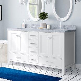 Utley 61 Double Bathroom Vanity Set ByAndover Mills