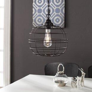 Wrought Studio Dostie 1-Light LED Pendant