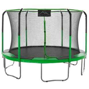 Upper Bounce Skytric 11' Round Trampoline with Safety Enclosure