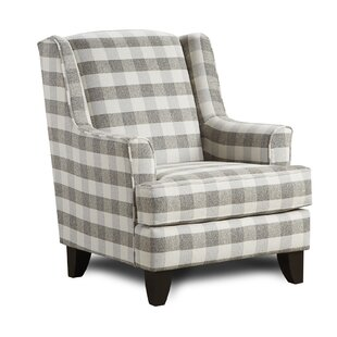 Best Price Etter Wingback Chair By Darby Home Co