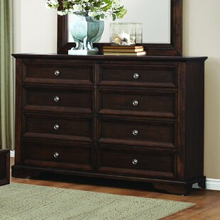 Homelegance Eunice 8 Drawer Double Dresser
