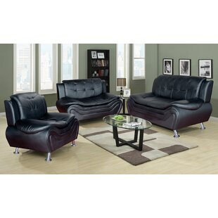 Ethel 3 Piece Living Room Set