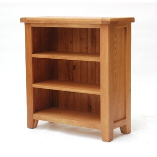 Ashly Low Wide 90cm Standard Bookcase By Natur Pur