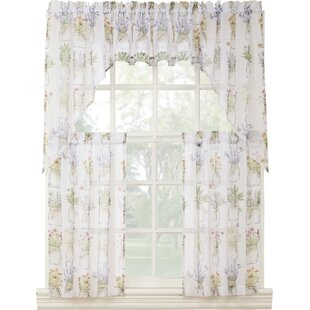 small bathroom window curtains. Eve s 54  Window Valence Bathroom Curtains Short Wayfair