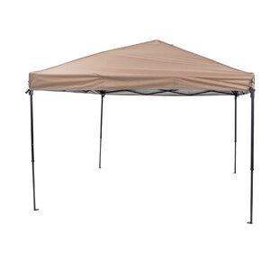 10 Ft. W x 10 Ft. D Steel Pop-Up Canopy by TrueShade? Plus