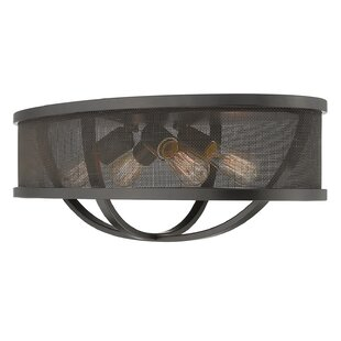 Laurel Foundry Modern Farmhouse Tensed 4-Light Flush Mount