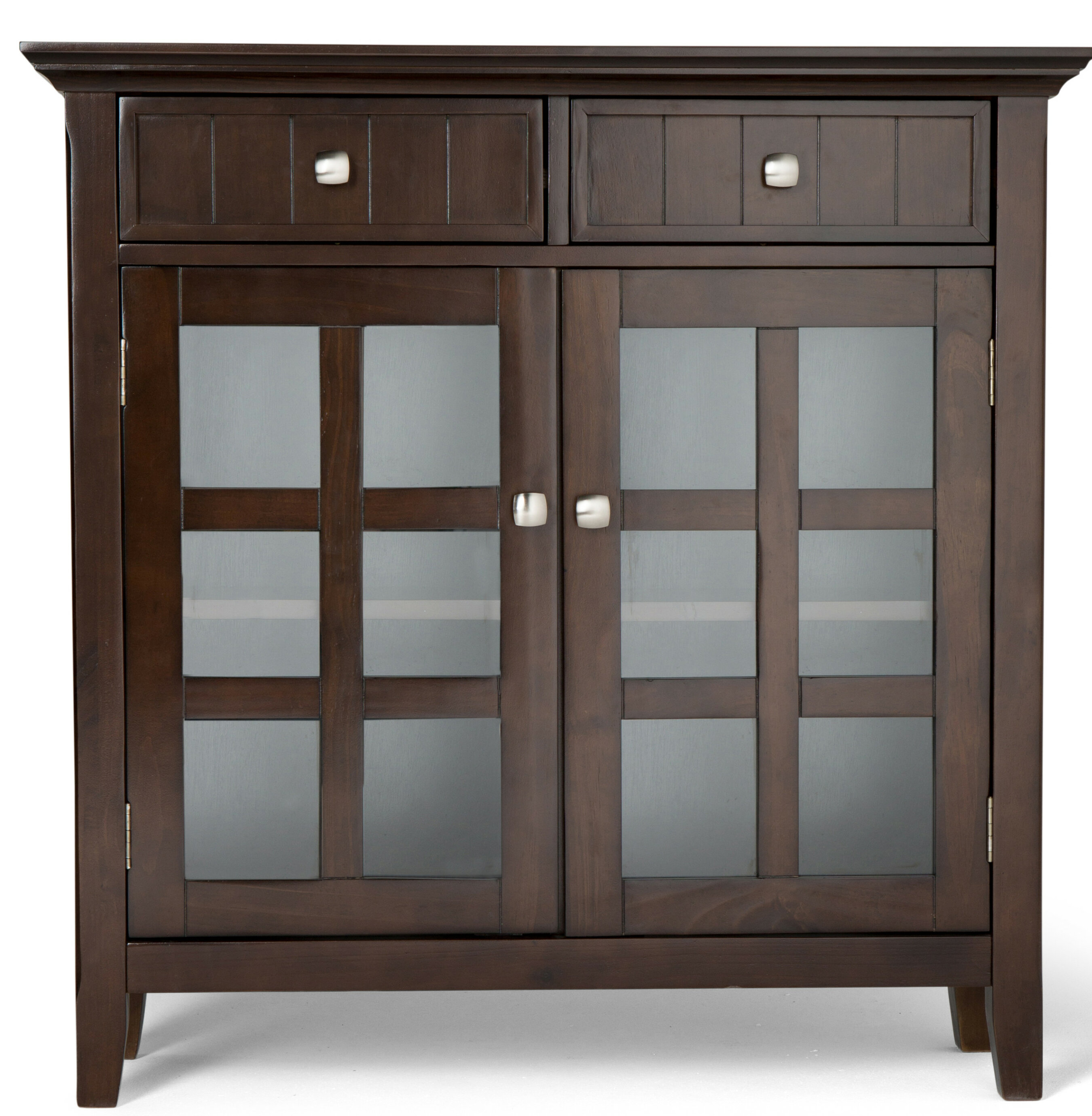 Picture of: Crafted Of Solid Pine And Manufactured Wood Dillsboro Wood 2 Door Accent Hutch Buffet Cabinet Chest Hutch Buffet Cabinet Chest Black Buffets Credenzas Sideboards Home